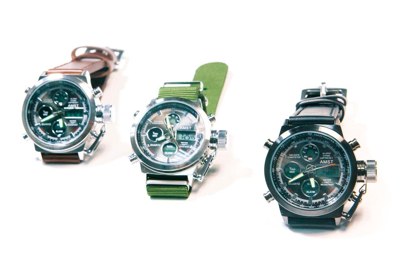 Купить настоящие часы амст от производителя